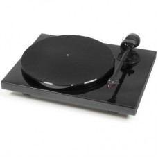 1Xpression Carbon Audiophile 2-speed Turntable (Piano Black)